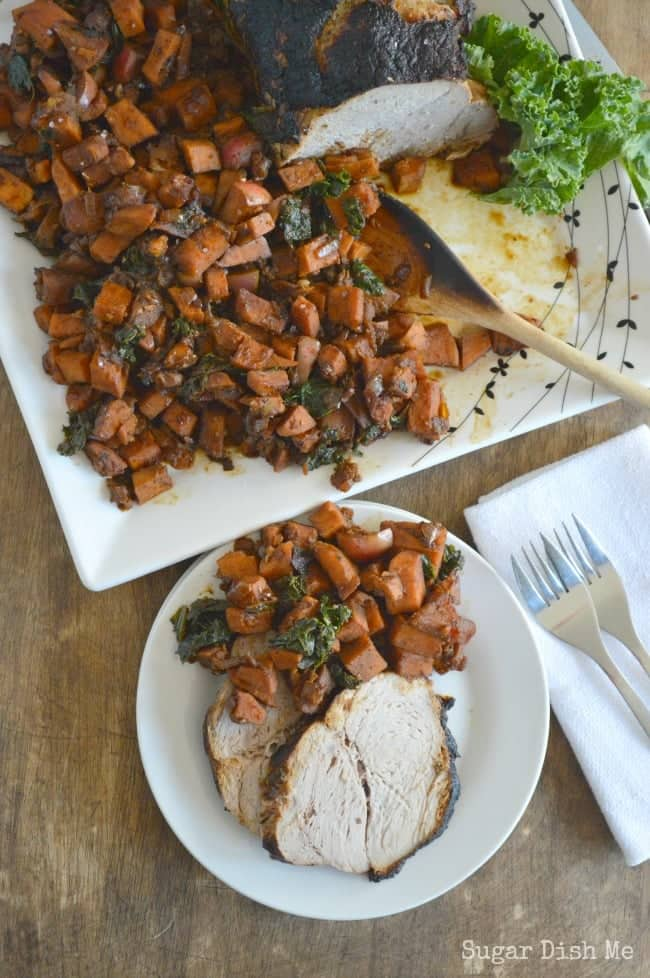 Roasted Pork and Sweet Potato Hash Recipe