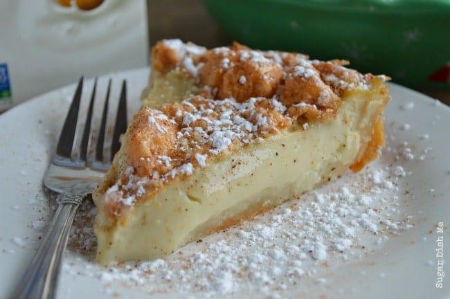 Creamy Egg Custard Pie Recipe