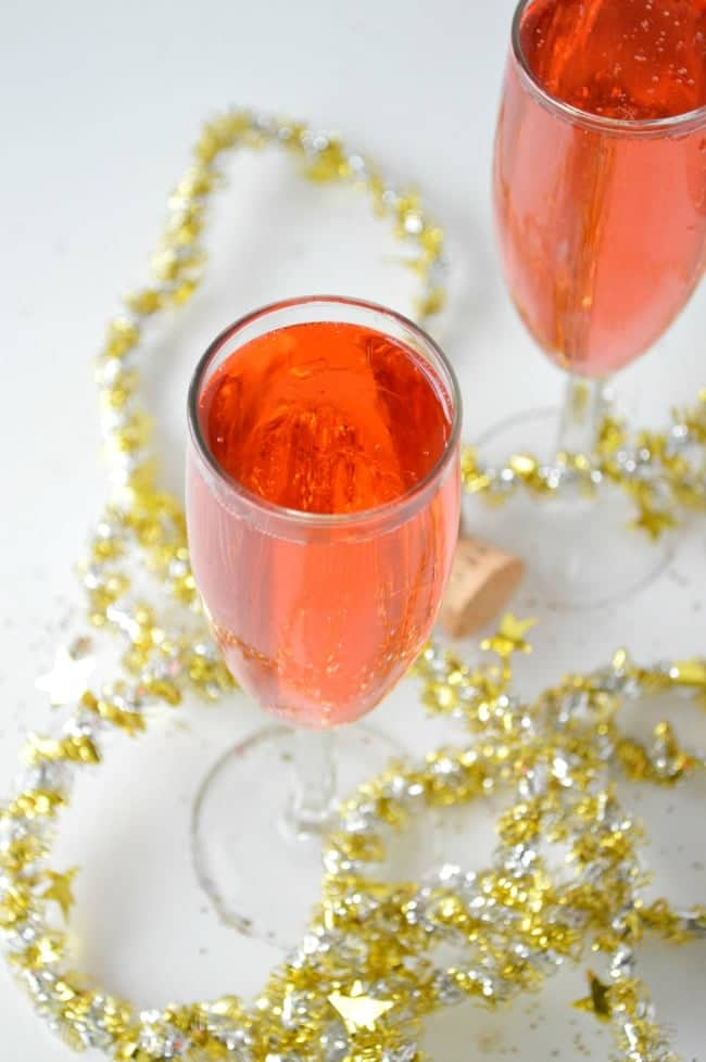 Pink Champagne Cocktail Recipe