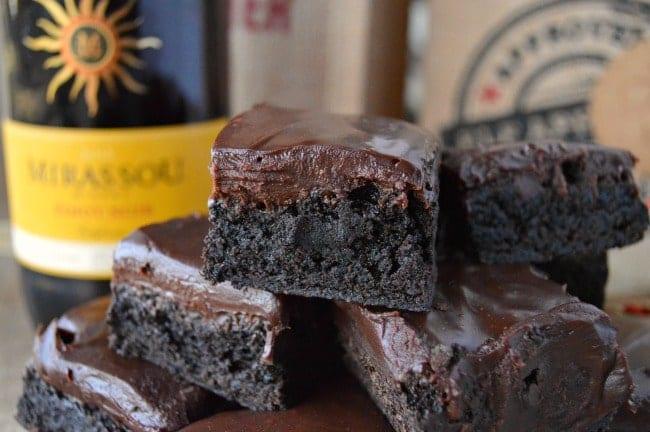 Pinot Noir Brownie recipe