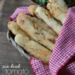 Easy Sun Dried Tomato Breadstick Recipe