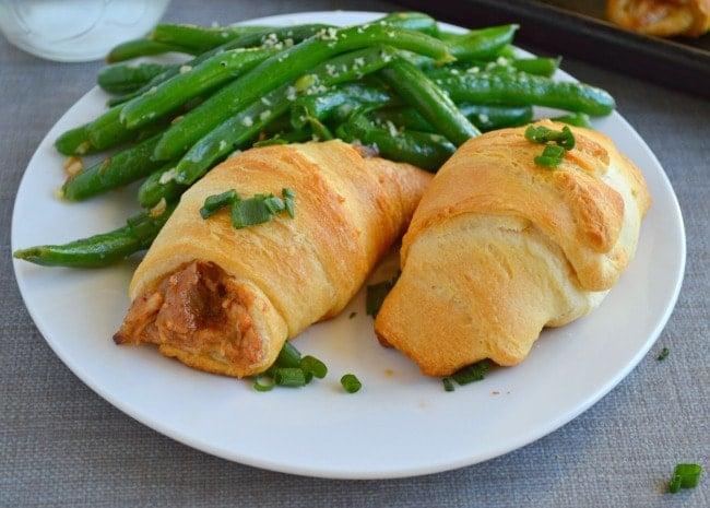 BBQ Chicken Crescent Roll Ups Recipe