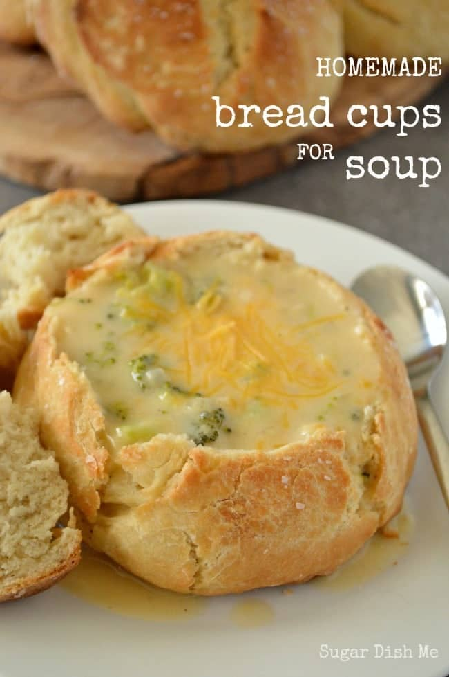 Homemade Bread Cups for Soup