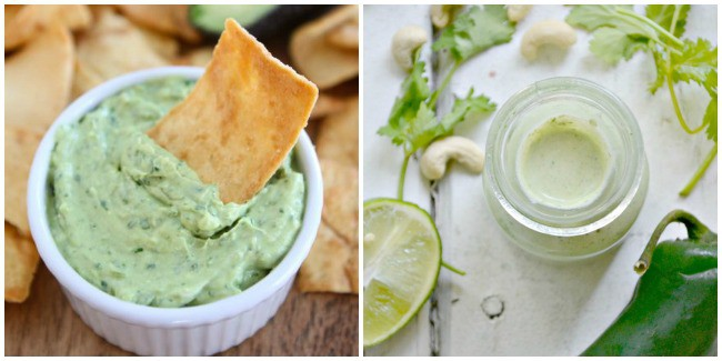 Cilantro Dip and Dressing