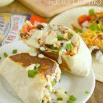 Honey Wasabi Tuna Burrito