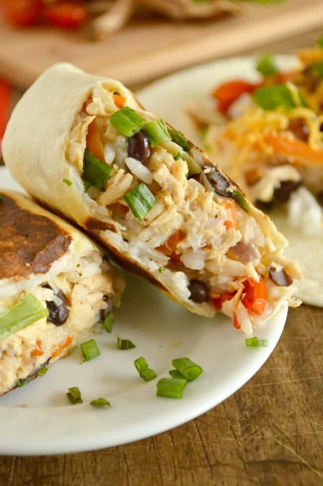 Tuna Burrito with Honey Wasabi