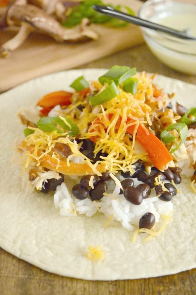 Tuna Burrito Recipe