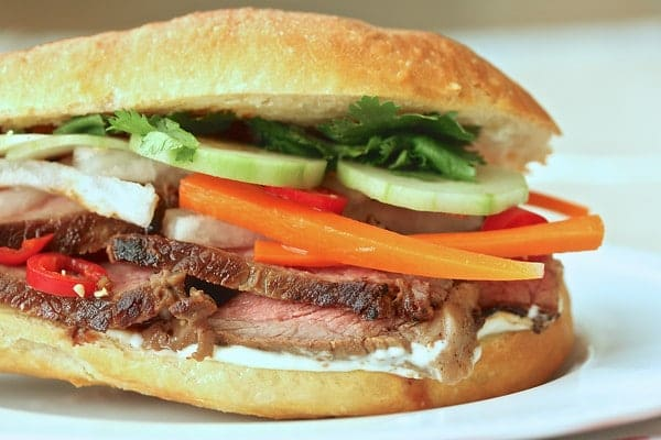 Steak Bahn Mi via Karen's Kitchen Stories