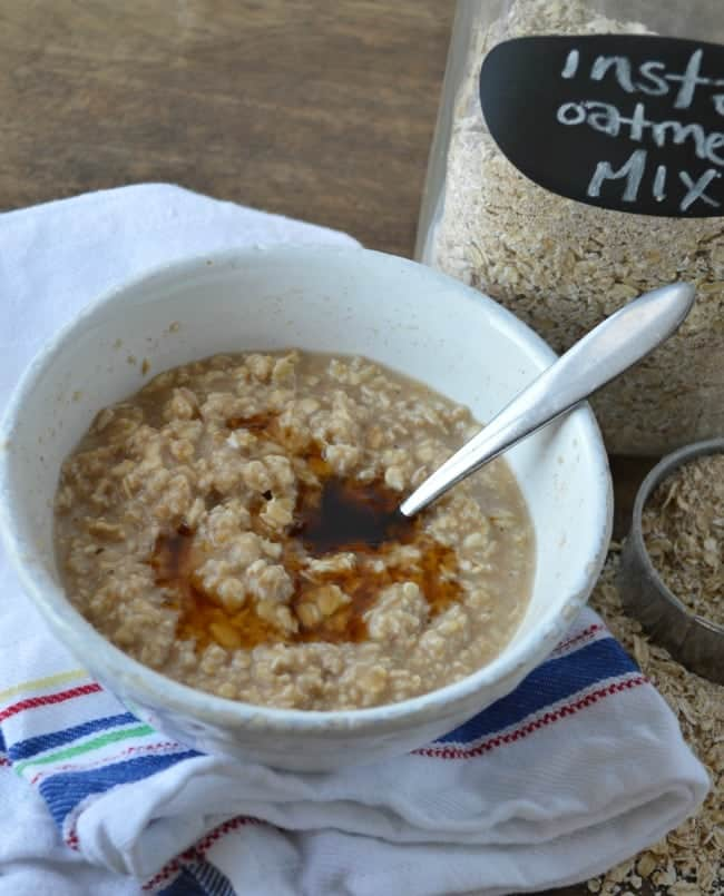 Instant Oatmeal Mix