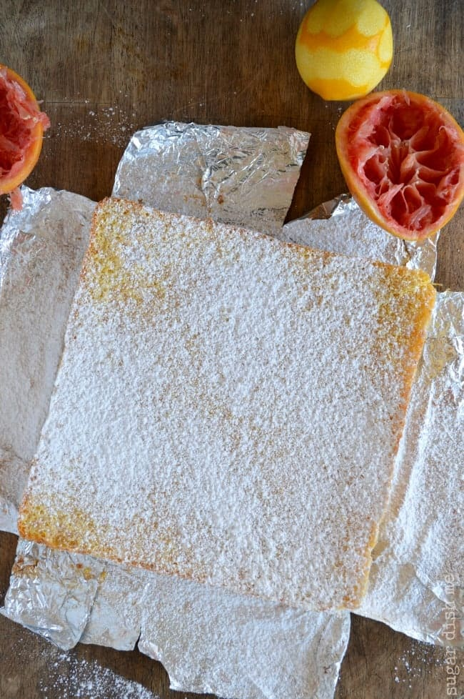 Winter Citrus Bars with Grapefruit, Blood Oranges, and Meyer lemons