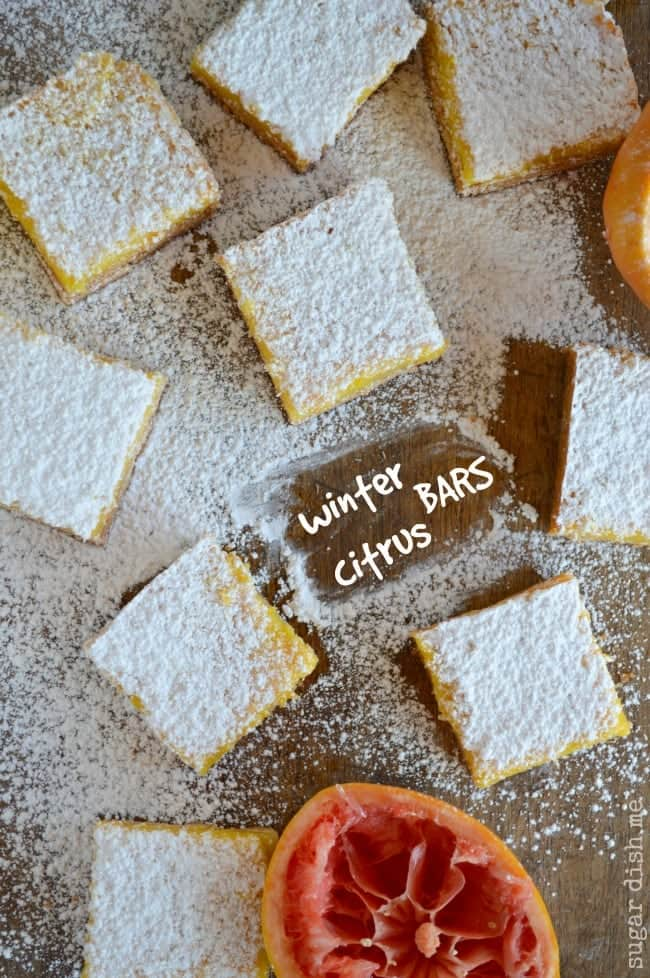 Winter Citrus Bars