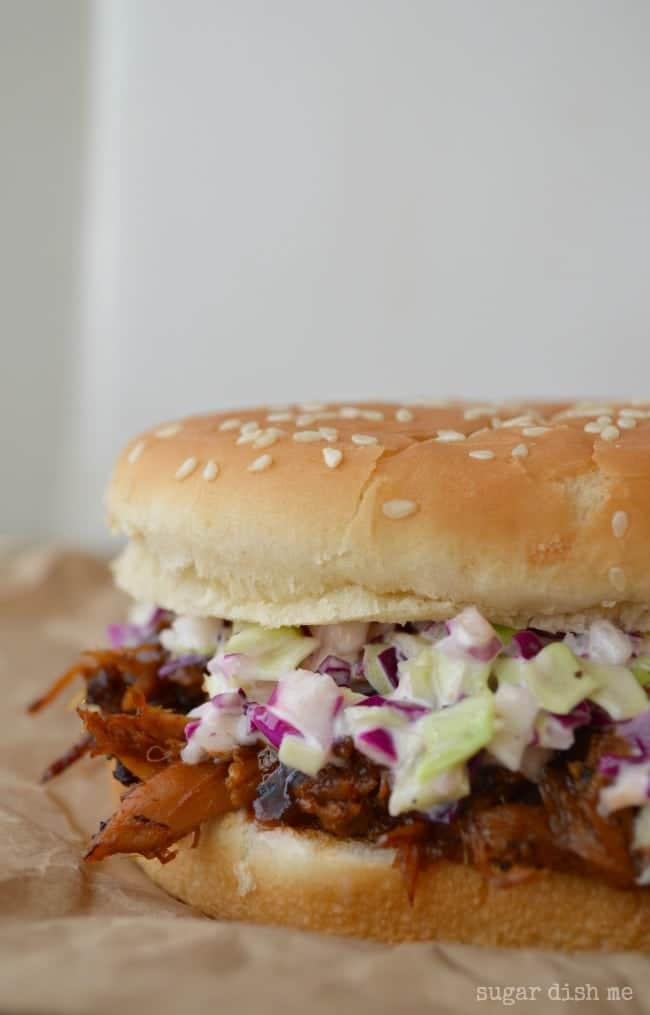 Pulled Pork Sandwiches with Homemade Slaw Recipe