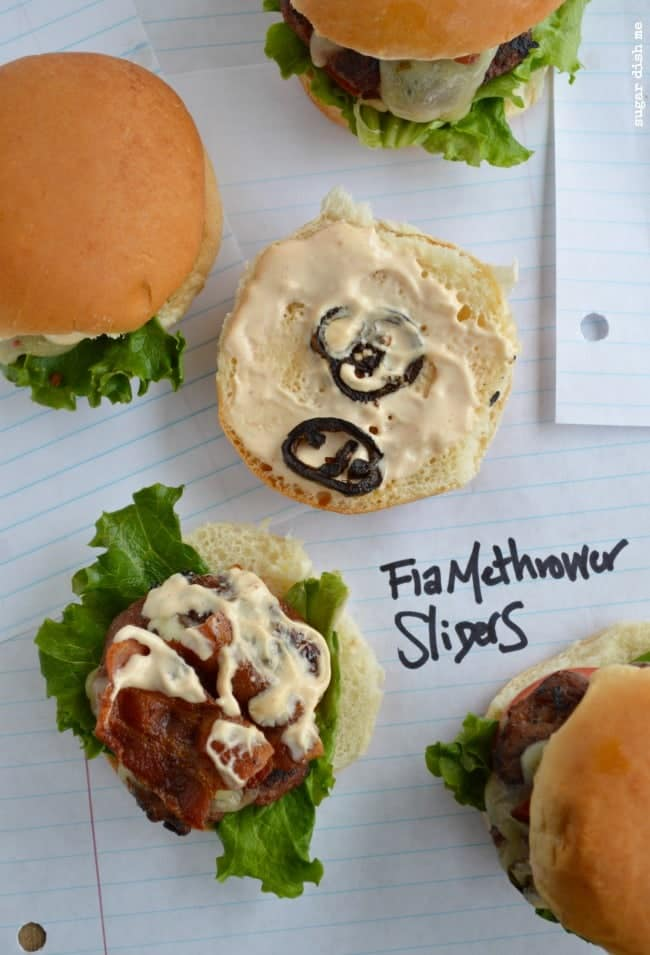 Flamethrower Sliders