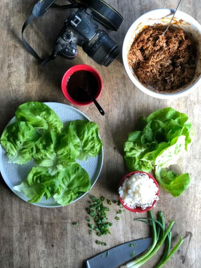 Food Blog Photo Cart tabletop