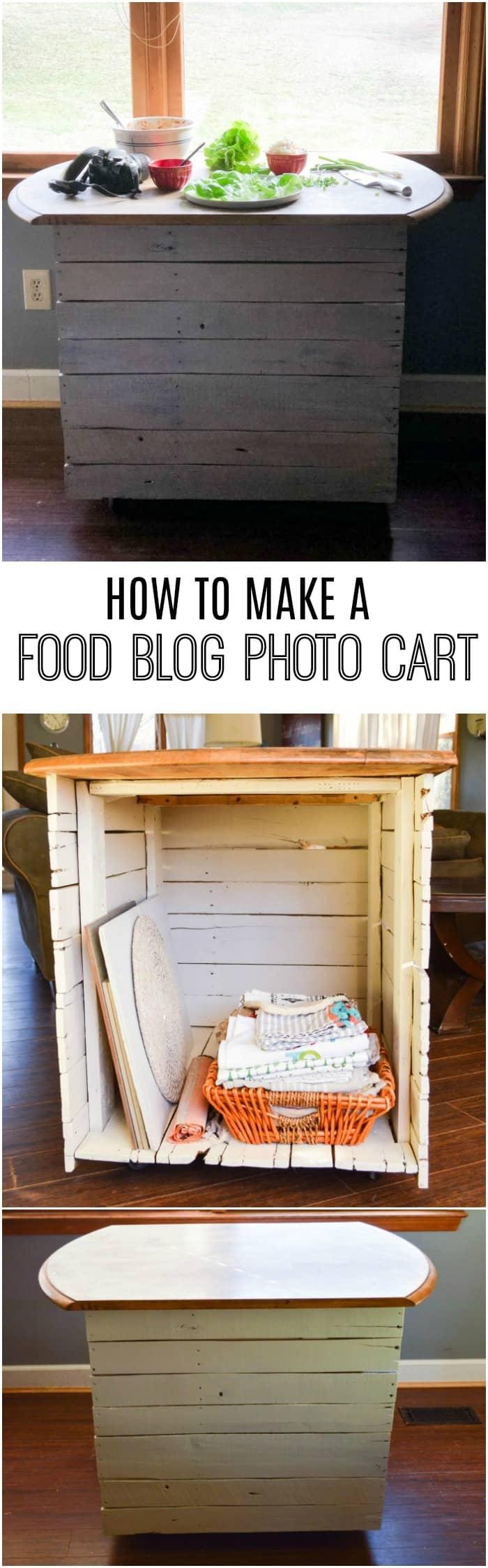 Food Blog Photo Cart