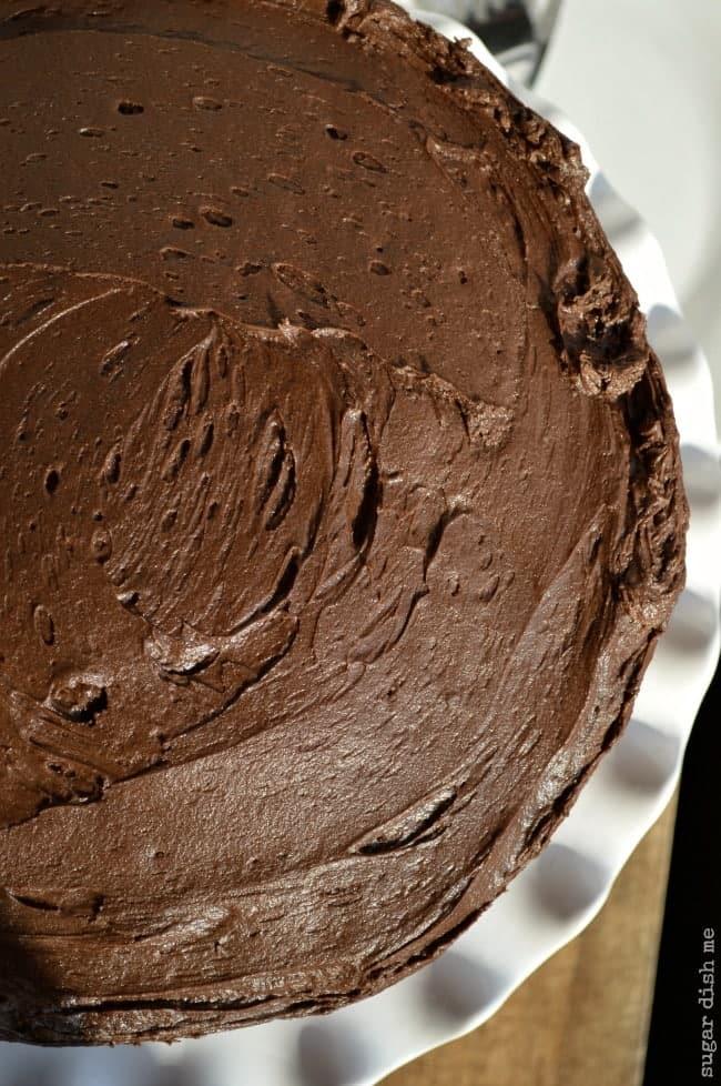 Sour Cream Fudge Cake Recipe
