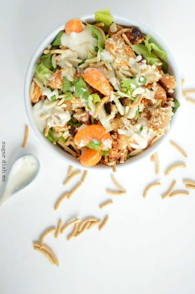 Asian Chicken Crunch Salad Recipe