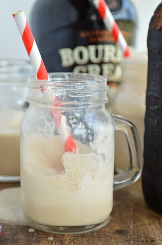 Bourbon Cream Float Recipe