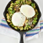 Quick and Easy Brussels Sprout Hash