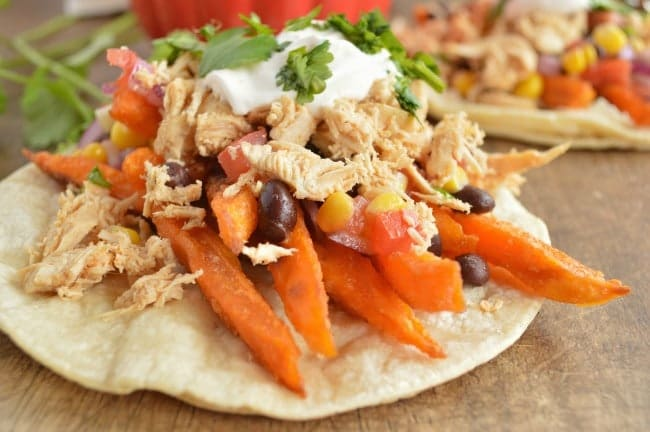 Sweet Potato and Chicken Tacos Recipe