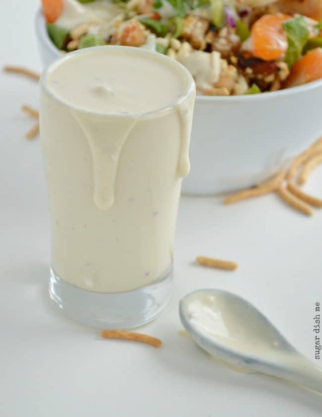 Creamy Applebee's Oriental Dressing Copycat Recipe