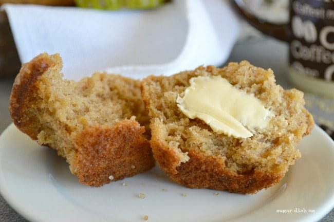The Fluffiest Most Buttery Banana Muffin Recipe