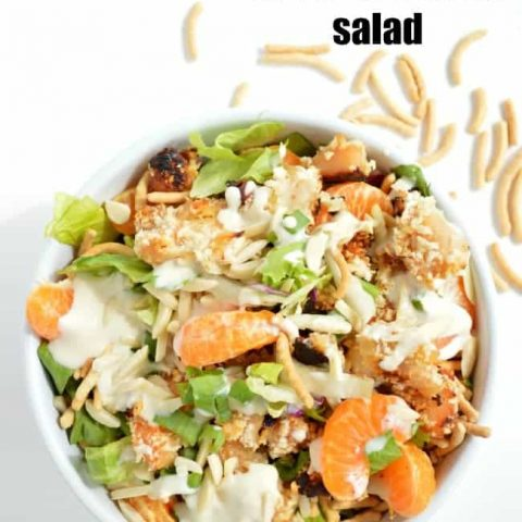 Asian Chicken Crunch Salad