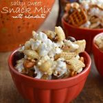 Salty Sweet Snack Mix with Chocolate