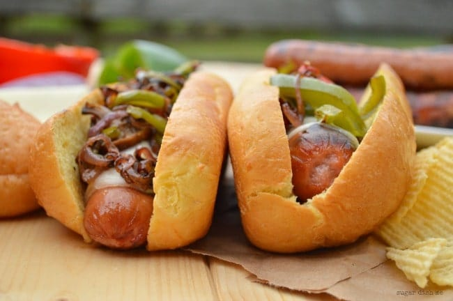 Philly Cheesesteak Hot Dog Recipe