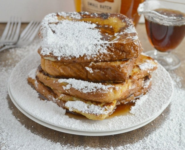 The Best French Toast with Warm Syrup Recipe