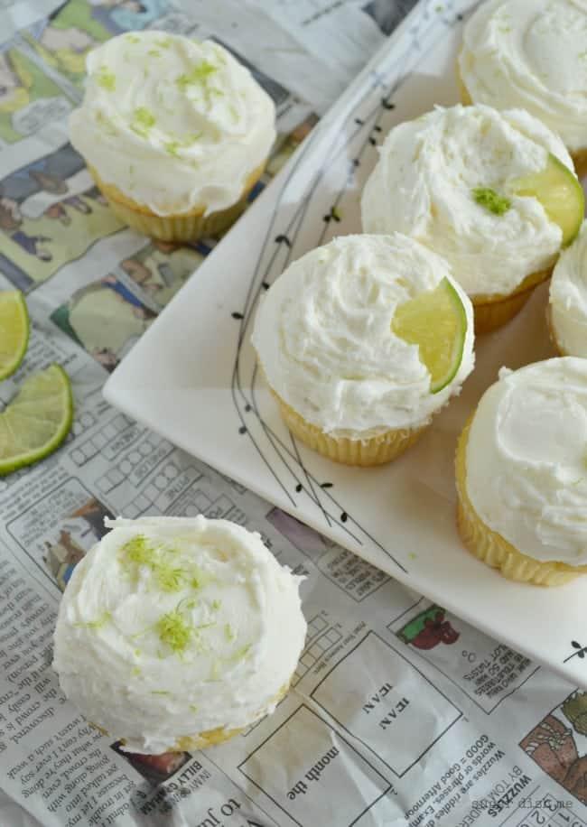 Tequila Cupcakes with Margarita Buttercream Recipe
