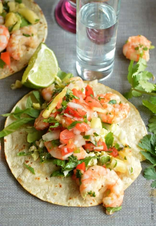 Easy Tequila Shrimp Recipe