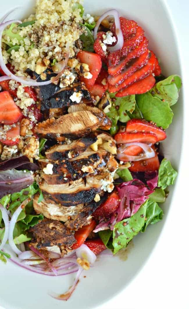 Easy Chicken Strawberry Salad Recipe