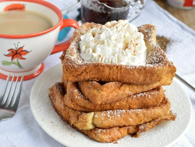 Chai Tea French Toast Brunch Recipe