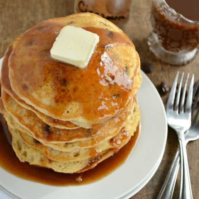 Raisin Bread Pancakes Recipe