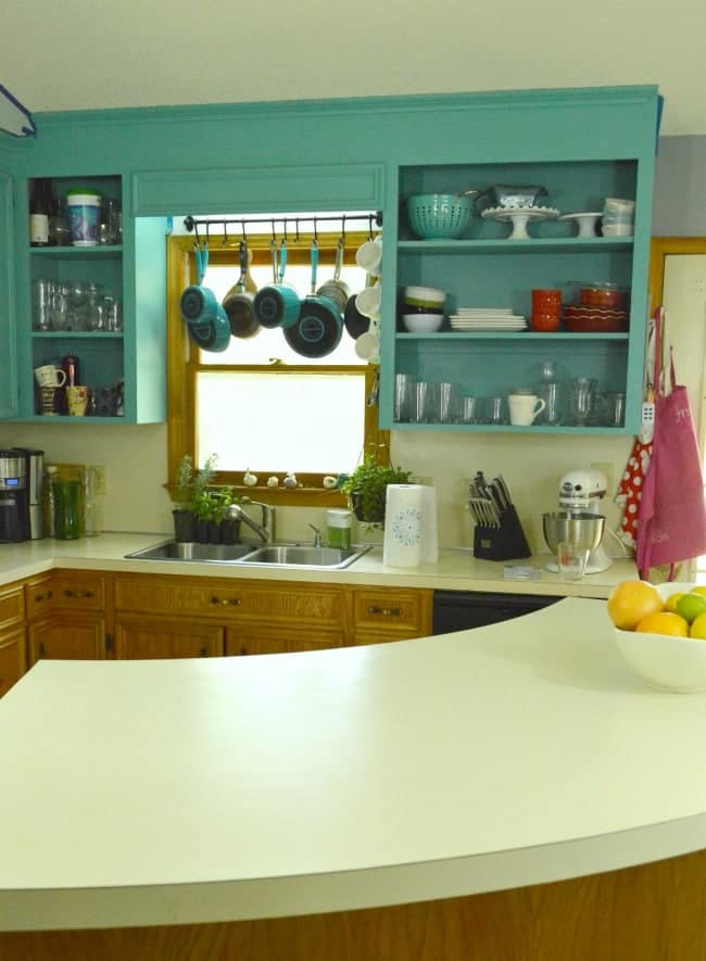 In My New Kitchen