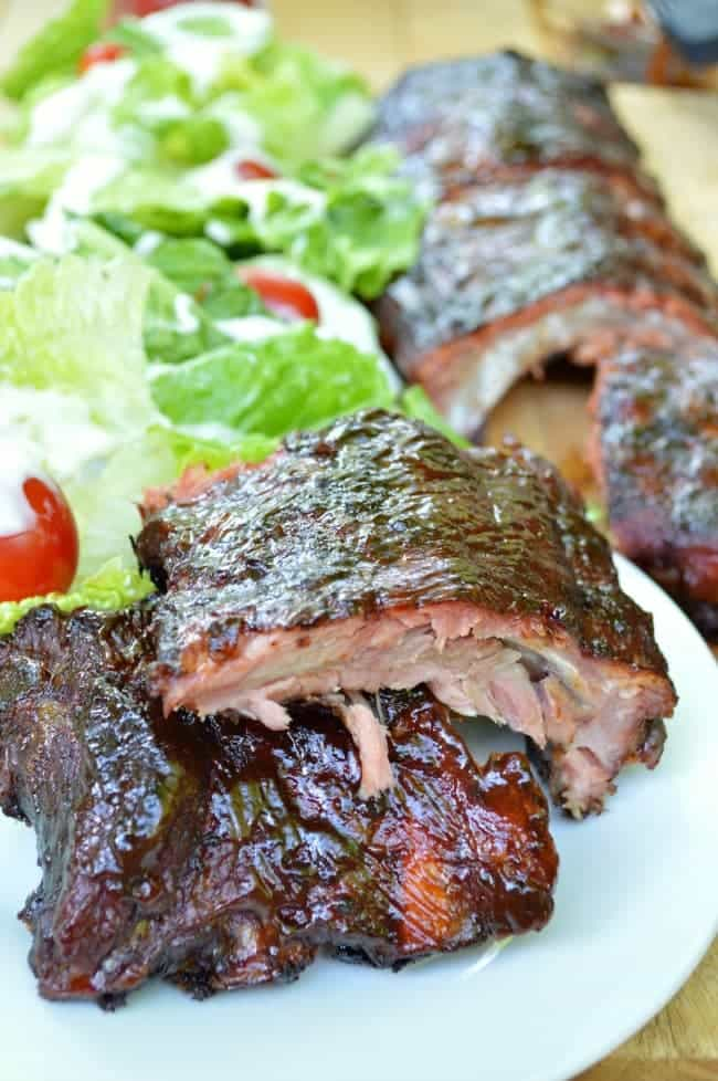 The Best Slow Smoked Ribs Recipe