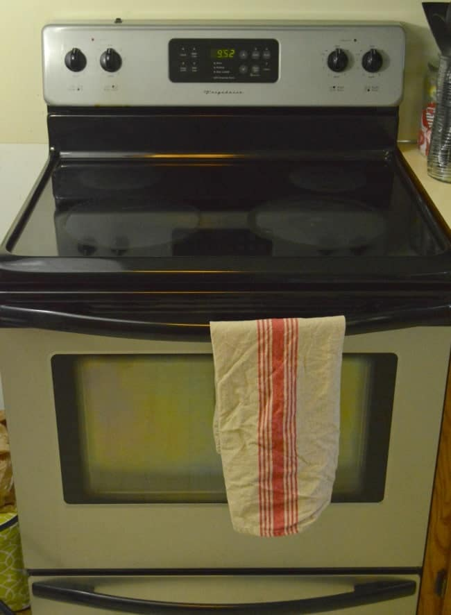 My Scrubbed Stove