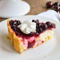 Cherry Berry Cream Cheese Pie