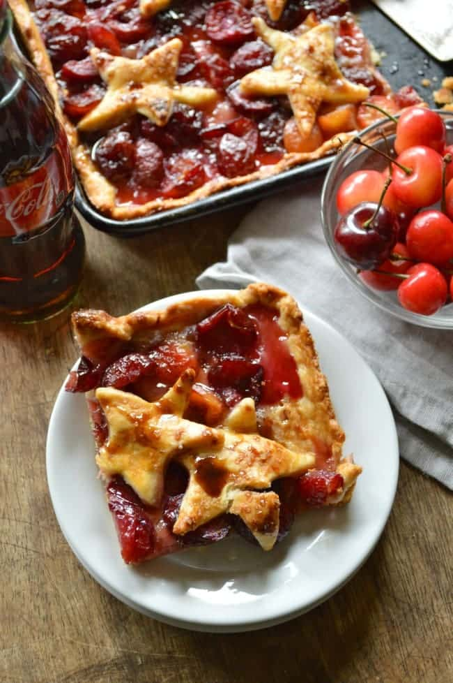 Cherry Cola Slab Pie Recipe