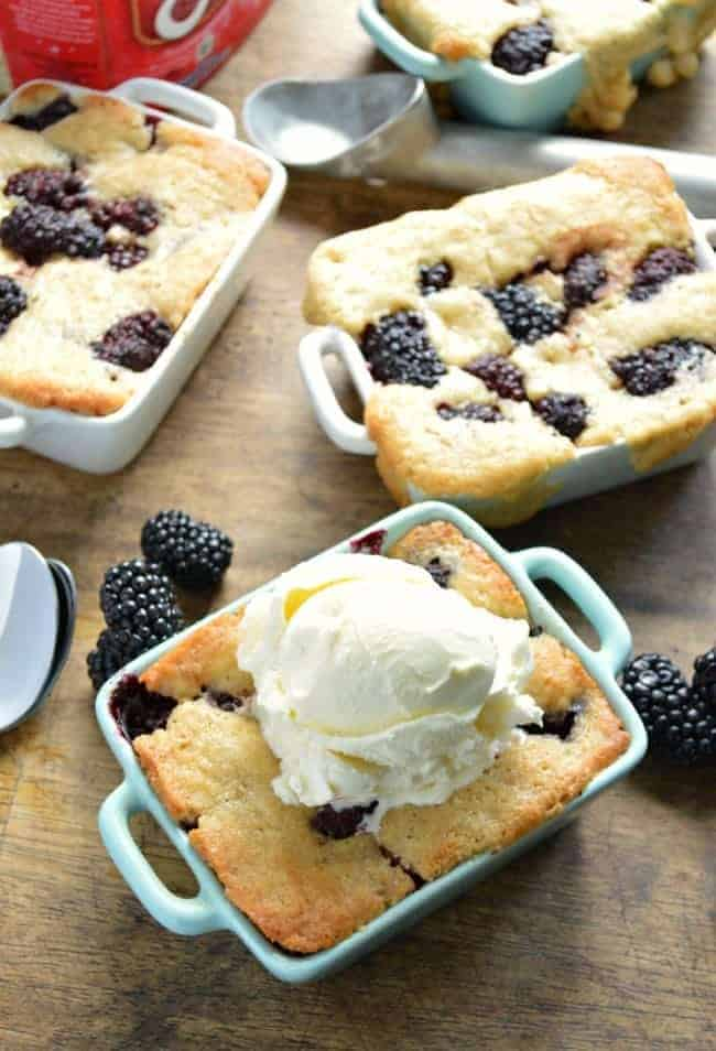 Easiest Blackberry Cobbler Recipe
