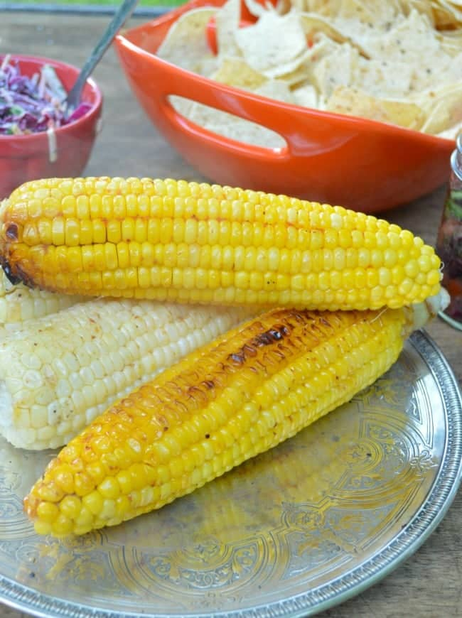 Grilled Red Habanero Corn Recipe