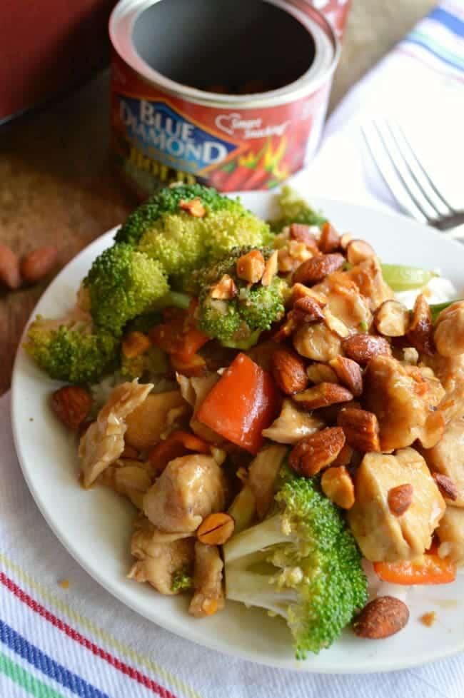 Slow Cooker Honey Sriracha Chicken Stir Fry Recipe