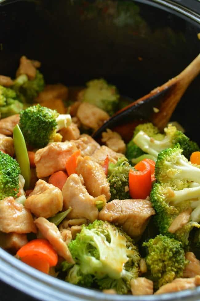 Crock Pot Chicken Stir Fry Recipe