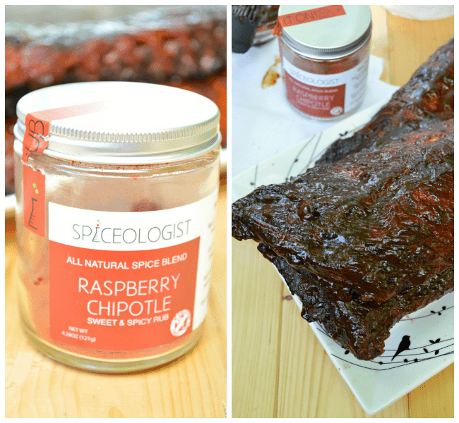 Raspberry Chipotle Rub