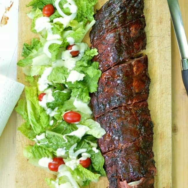 Slow Smoked Raspberry Chipotle Ribs