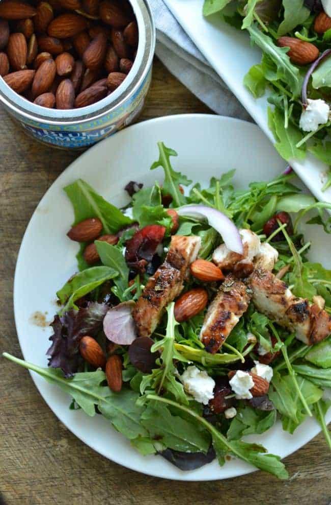 Cherry Almond Chicken Salad Recipe