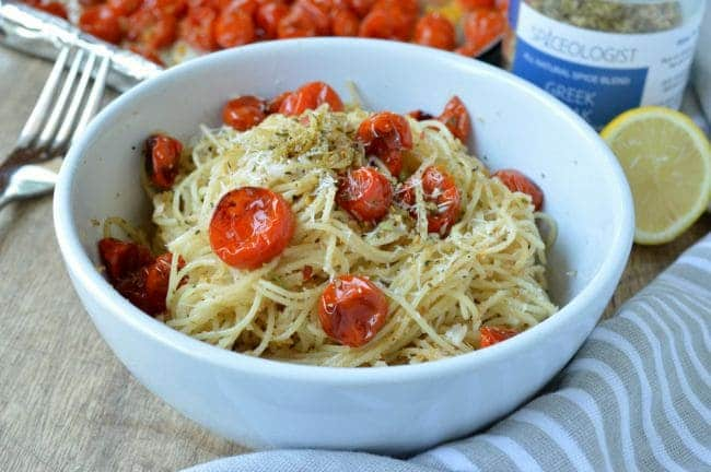 Roasted Tomato Spaghetti Recipe