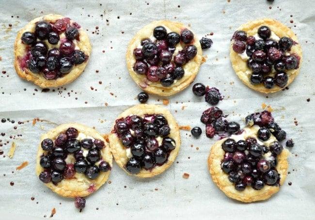 Roasted Berry Tart Recipe