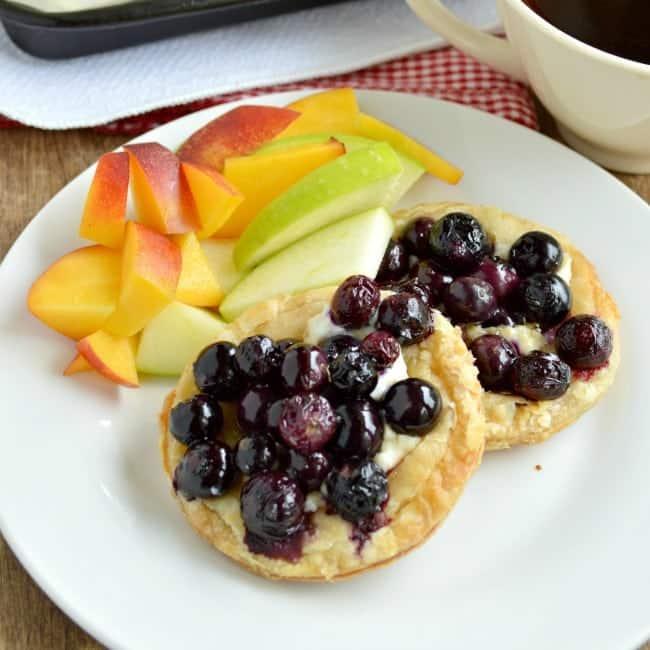 Roasted Berry Breakfast Tarts